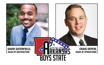Depew and Saterfield appointed to new leadership for Arkansas Boys State