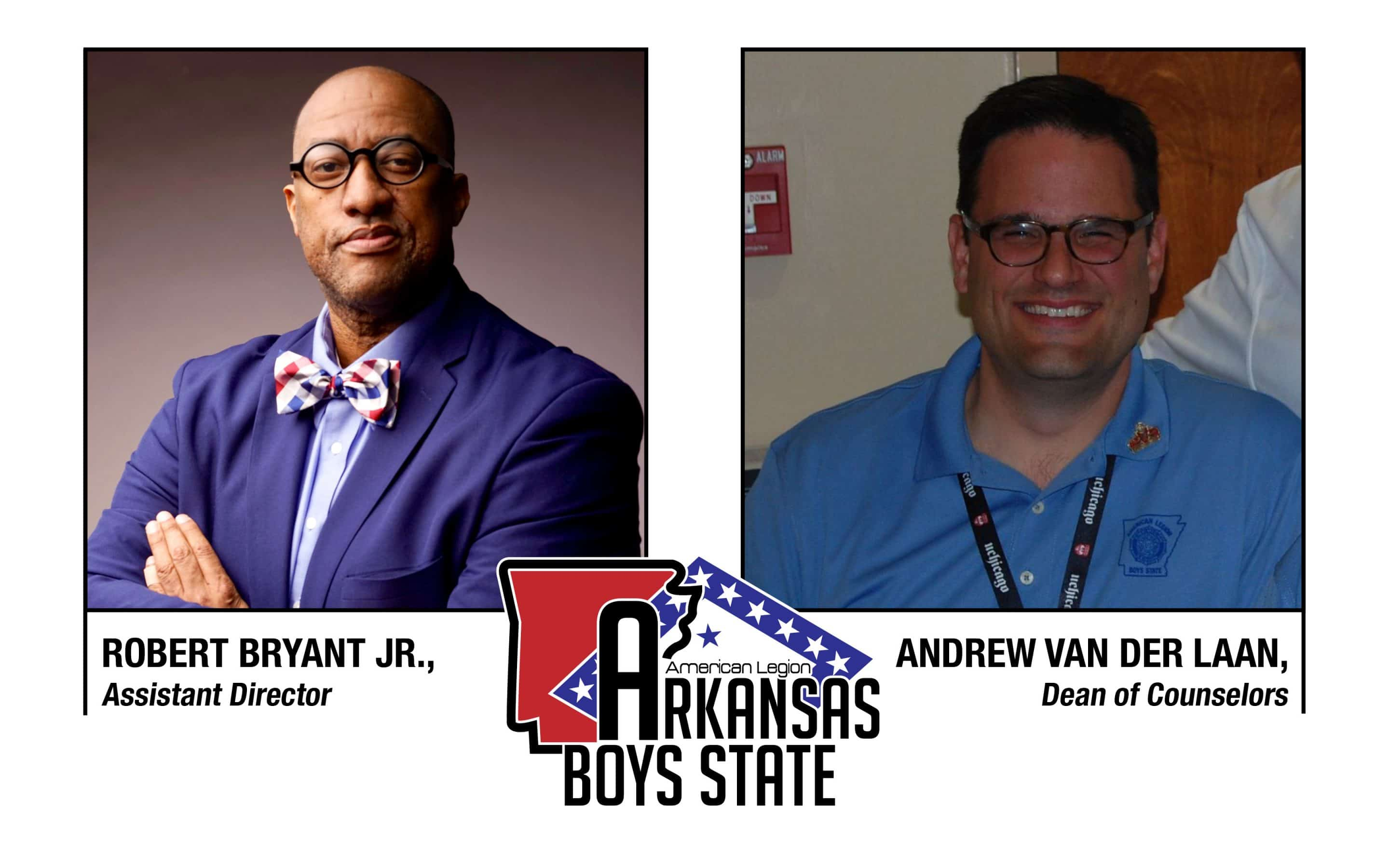 Arkansas Boys State announces Bryant as assistant director, Van Der Laan as dean of counselors